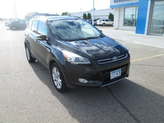 Used 2014 Ford Escape Titanium with VIN 1FMCU9J97EUB37774 for sale in Bemidji, Minnesota