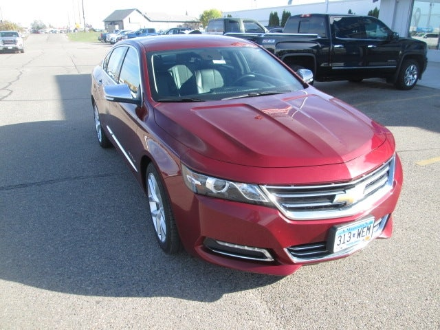 Used 2016 Chevrolet Impala 2LZ with VIN 2G1145S34G9174448 for sale in Bemidji, Minnesota